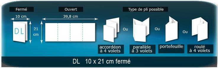 Bien connu Les différents types et formats de dépliants publicitaire en image  FE05