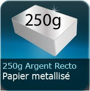 250g Chromolux Argent recto
