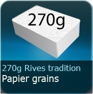 270g Grains Rives Tradition blanc