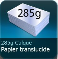 285g Calque transparent