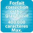 400000 Caractres max