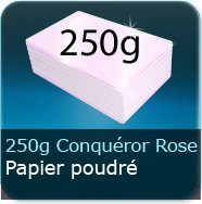 250g Conquror mtallis Rose Poudr