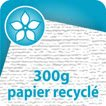 300g Recycl cyclus blanc