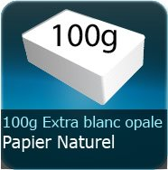 Papier a lettre perso 100g Opale Extra Blanc Absolu