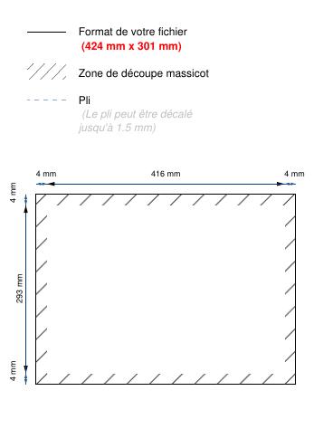 Sets De Table Set En Papier Plastifi Ou Pellicul Ou Vernis Selectif A3 420x297mm Quadri